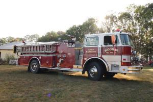 HAHN fire truck
